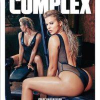 """Portada de la revista """"Complex"""". Foto:Instagram/KhloeKardashian"""