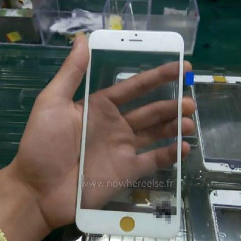 Así se vería el nuevo smartphone de Apple. Foto:vía nowhereelse.fr