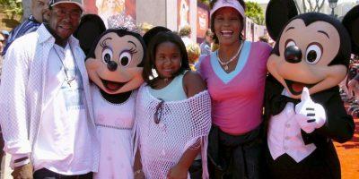 Fue hija de la fallecida cantante Whitney Houston. Murió luego de estar seis meses en coma. Foto:Getty Images