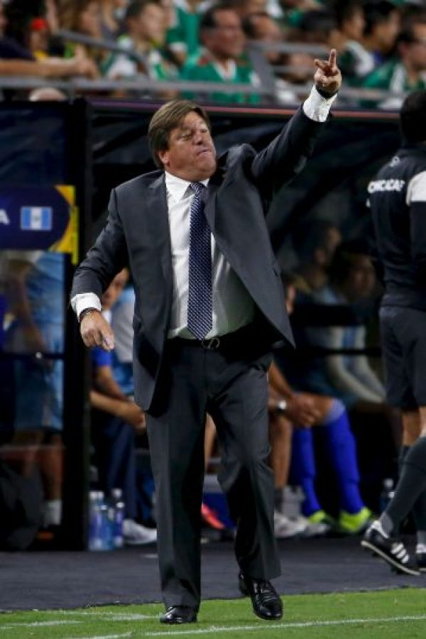 """El """"Tri"""" se coronó campeón de la Copa Oro Foto:Getty Images"""