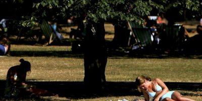 Angelique Sloss estaba tomando el sol con sus amigos cuando fue atacada. Foto:Getty Images