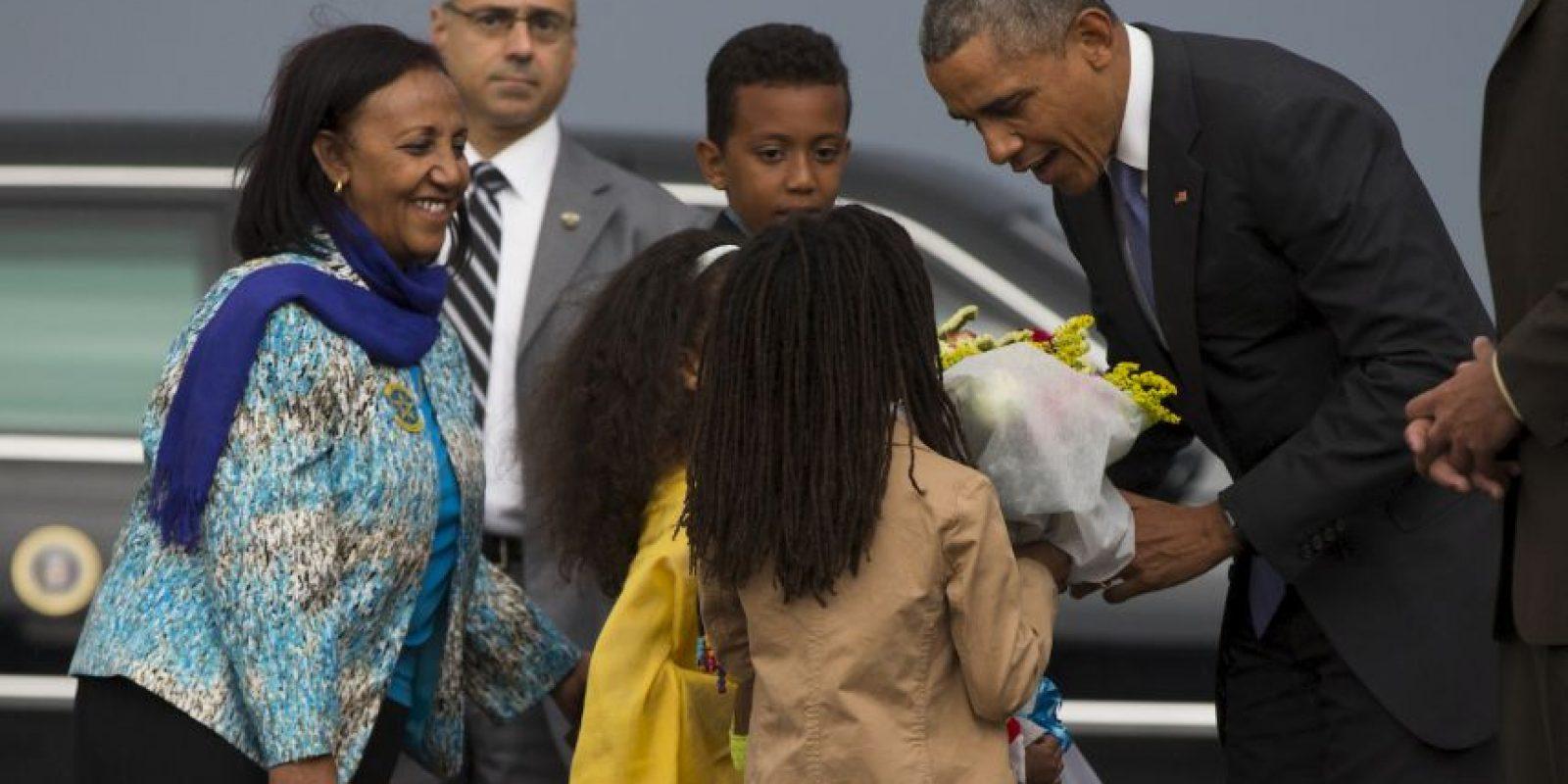 El presidente se encuentra en una gira de estado de cinco días por África. Foto:AP