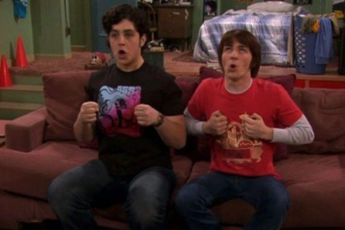 """En 2004, Drake Bell y Josh Peck protagonizaron la serie """"Drake y Josh"""". Foto:IMDB"""
