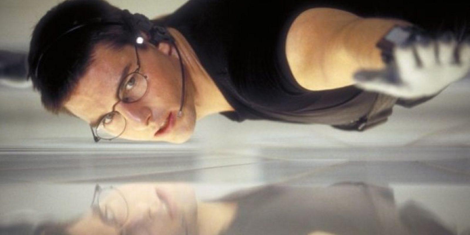 """El traje fue utilizado por """"Ethan Hunt"""" cuando irrumpía en la sede de la Agencia Central de Inteligencia (CIA) Foto:IMDb"""