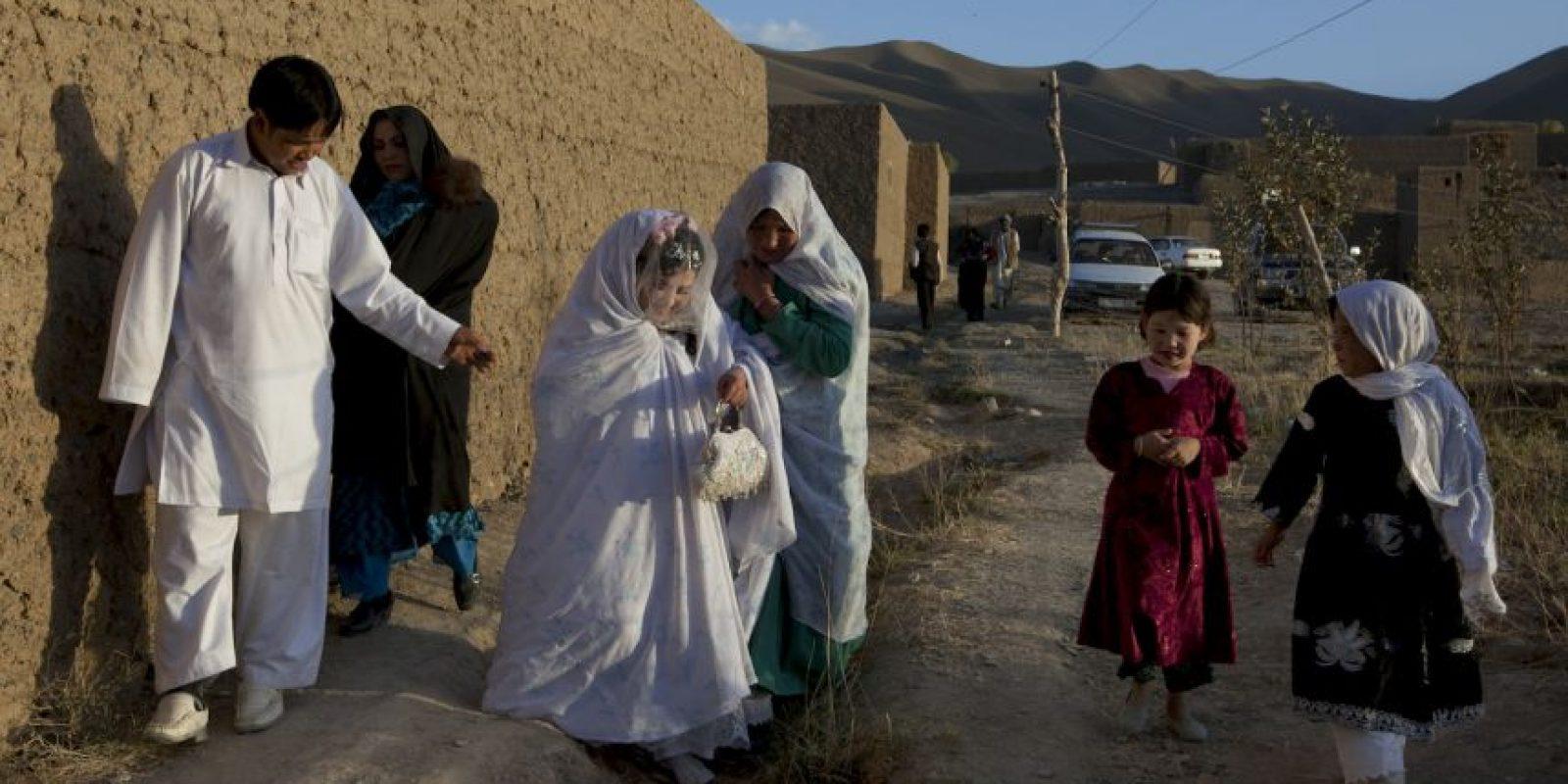 La boda se llevó acabo en la provincia de Baghlan, al norte de Afganistán. Foto:Getty Images