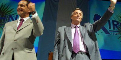 A favor del actual gobernador de la provincia de Buenos Aires, Daniel Scioli (izq). Foto:Getty Images