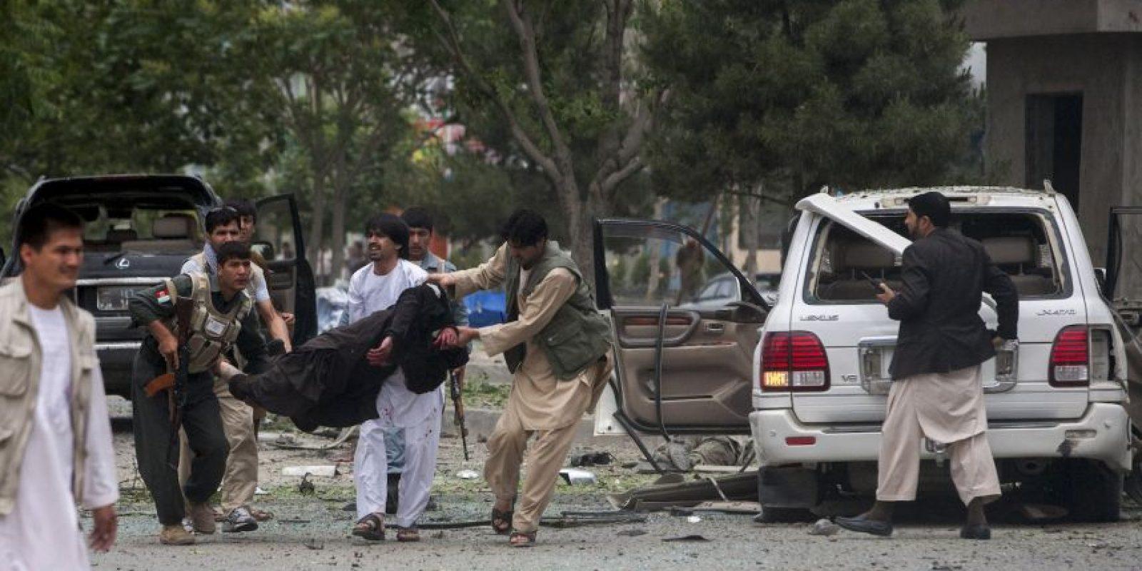 Los hombres que se enfrentaron pertenecian a dos grupos armados distintos. Foto:Getty Images