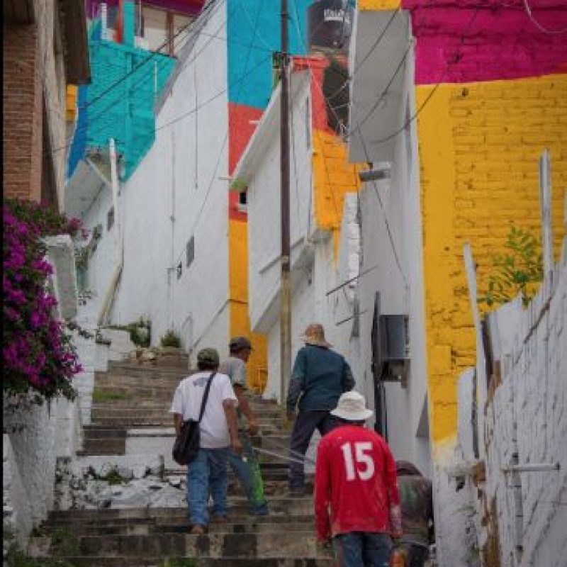Con esta iniciativa se buscaba una transformación comunitaria así como social. Foto:Vía facebook.com/muralismogermen