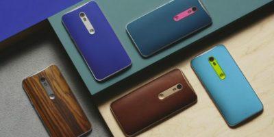 Escaner de huellas dactilares con software Android 5.1 Lollipop Foto:Motorola