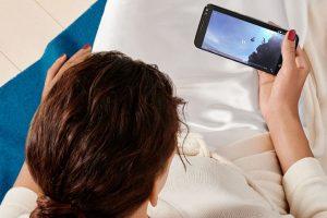 Cámara frontal: 5 megapíxeles Foto:Motorola