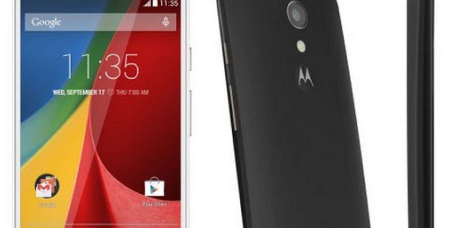 Cámara trasera: 13 megapíxeles Foto:Motorola