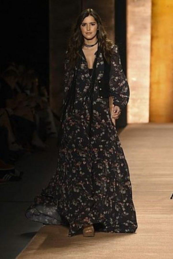De hecho, en Colombiamoda, la feria de moda más importante del cono sur del continente, tuvo que obtener otro look Foto:vía AFP