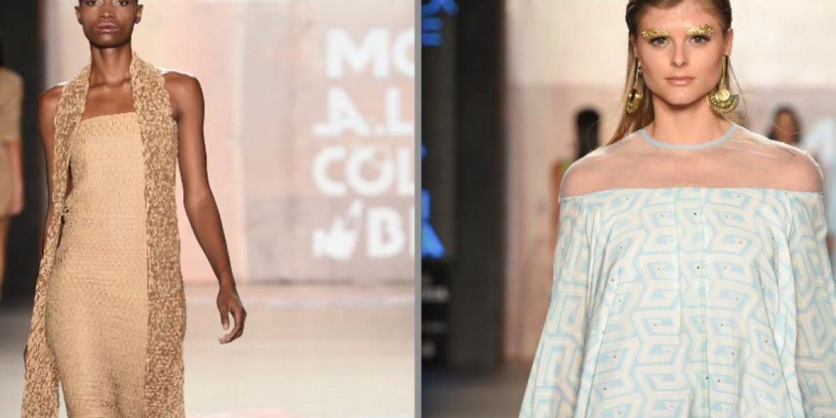 Andrea Landa, diseño  joven en 'Moda a la colombiana'