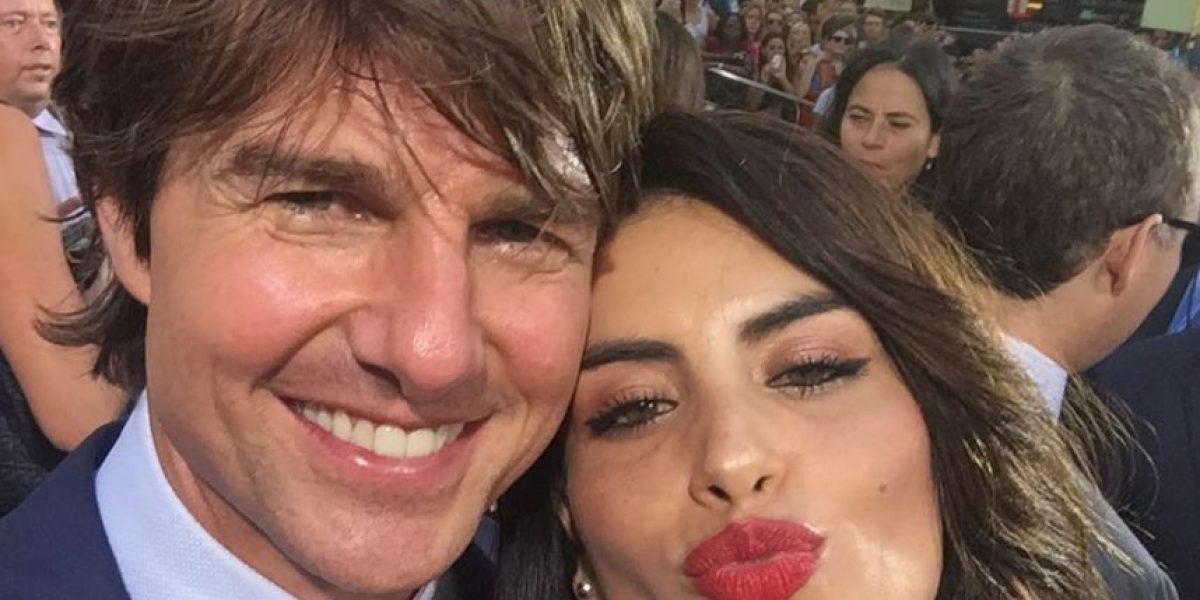 Aseguran que Tom Cruise se pasó de coqueto con Jessica Cediel