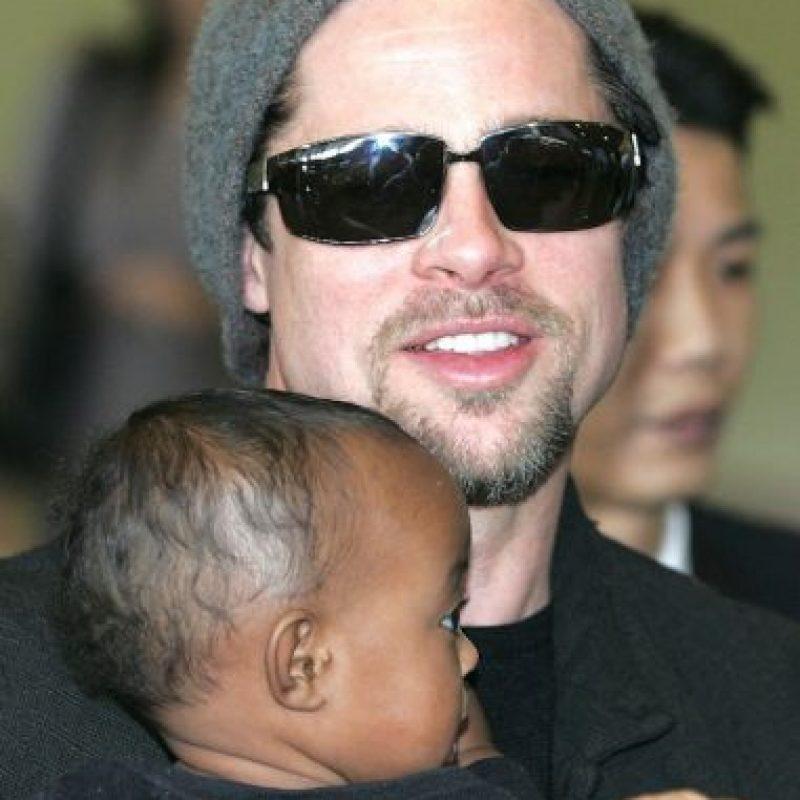 La actriz reportó que la pequeña había sido abandonada en un orfanato de Etiopía. Foto:Getty Images