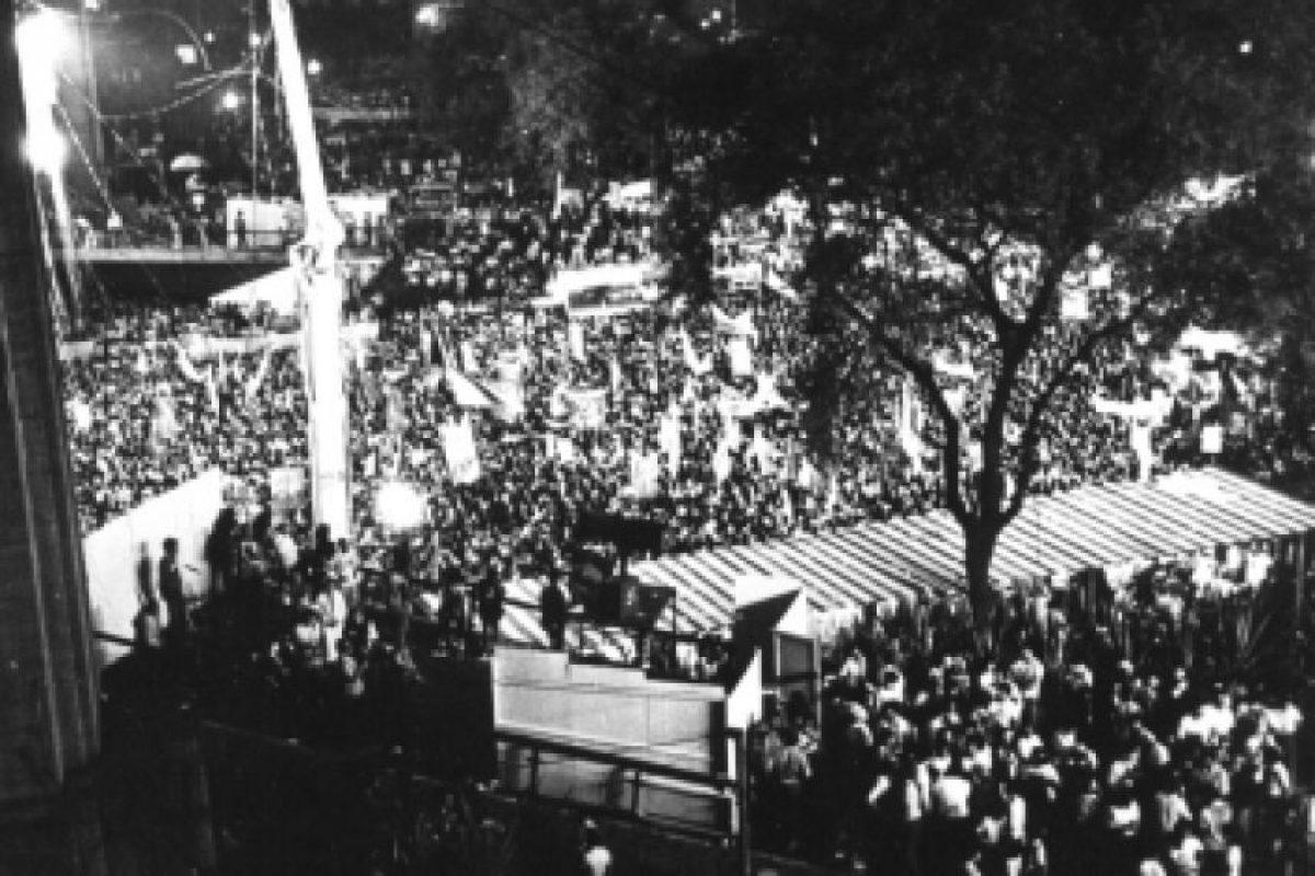 La dictadura militar de Humberto Castelo Blanco en Brasil comenzó el 31 de marzo de 1964 con el golpe de estado y concluyó en 1985 con la elección de Tancredo Neves. Foto:Wikimedia.org