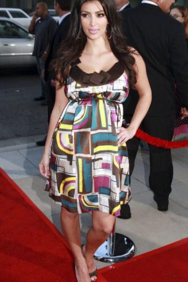 Y este vestido que parece de contrabando chino. Foto:vía Getty Images