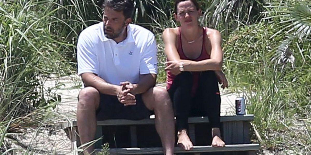 Ben Affleck encuentra consuelo con la niñera de sus hijos