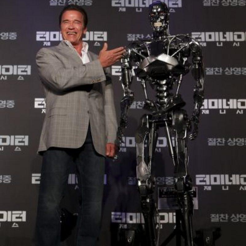"""Se han rodado cuatro secuelas: """"Terminator 2: el juicio final"""" (1991), """"Terminator 3: la rebelión de las máquinas"""" (2003), """"Terminator Salvation"""" (2009); y """"Terminator: Génesis"""" (2015) Foto:Getty Images"""