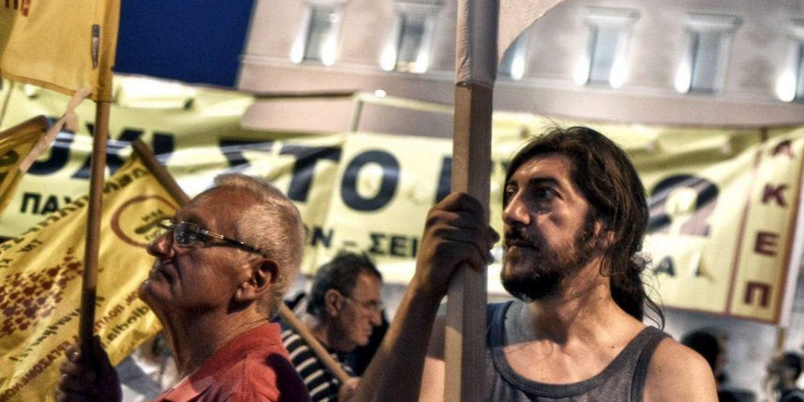 Hubo manifestaciones a favor y en contra del acuerdo Foto:Getty Images