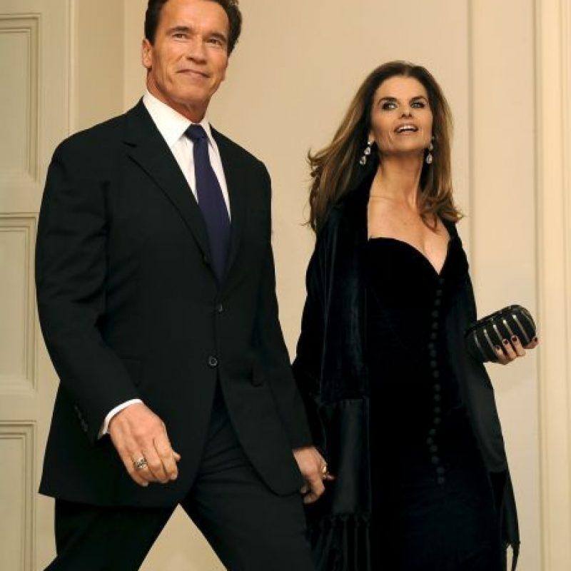 Después se supo que el motivo fue la existencia de un hijo extramatrimonial de Arnold con la niñera y ama de llaves, quien trabajó 20 años con la familia Foto:Getty Images