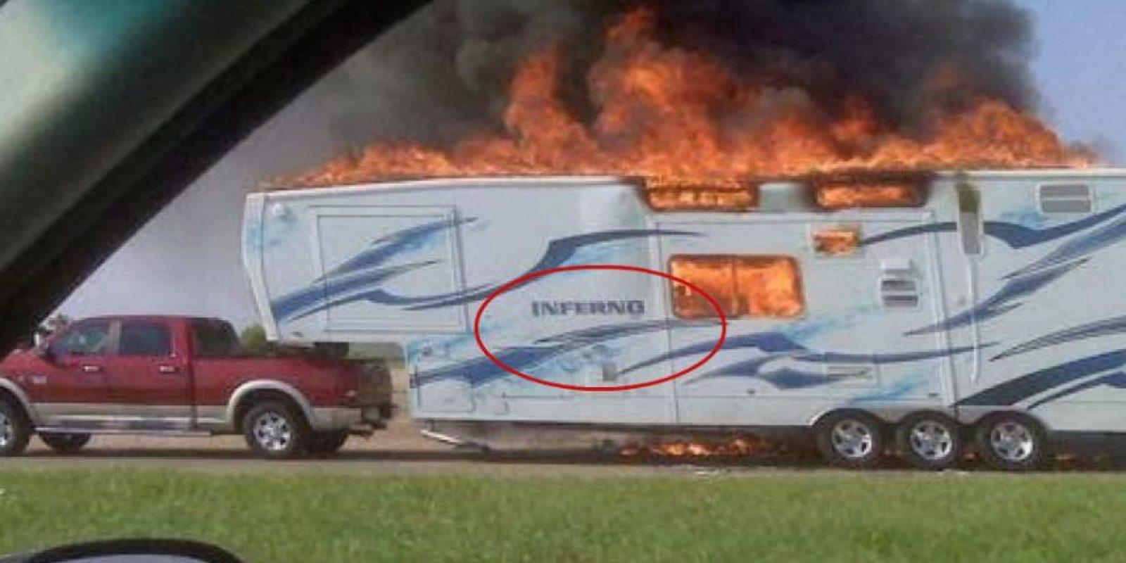 Sí, el infierno… Foto:Imgur
