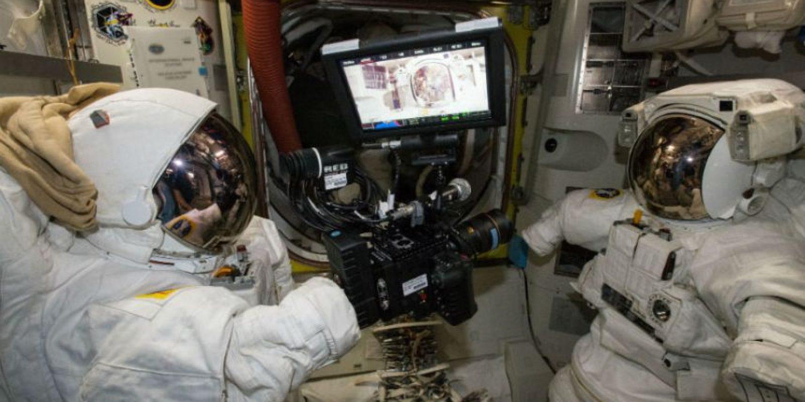 El video fue grabada con la nueva cámara de la Estación Espacial Internacional. Foto:Vía nasa.gov