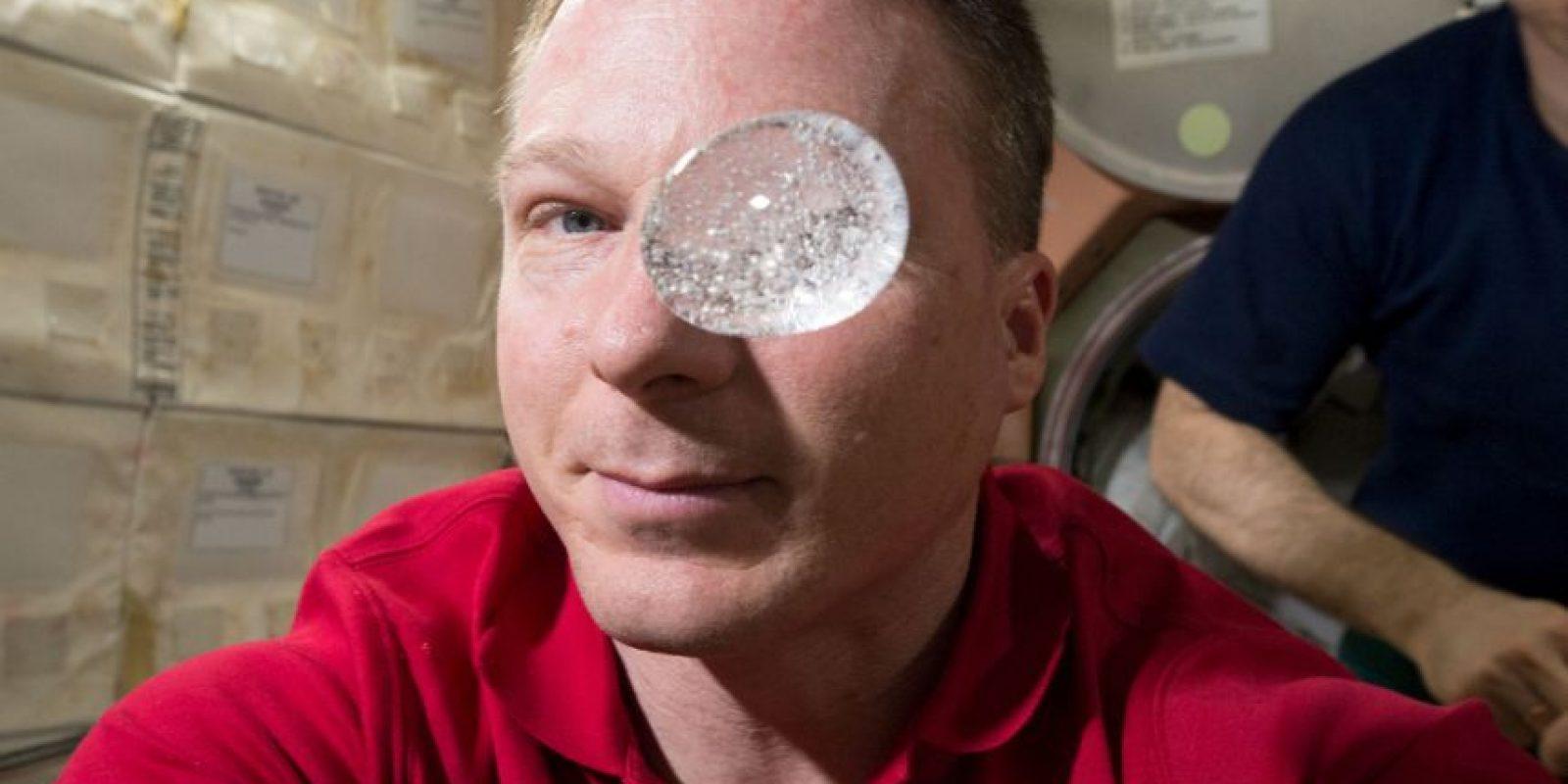 El astronauta Terry Virts fue quien realizó el experimento. Foto:Vía nasa.gov