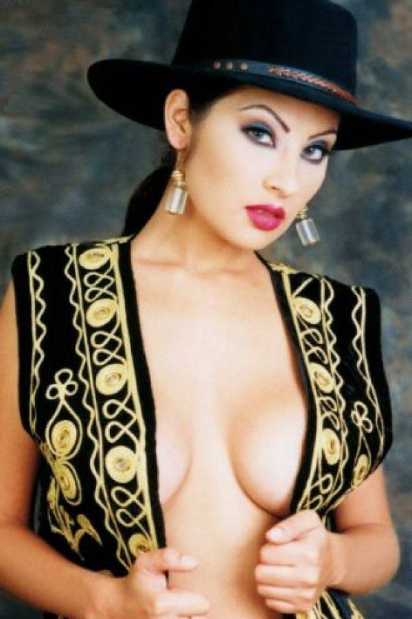 Angie Sanclemente fue la primera modelo famosa por ser detenida por tráfico de drogas. Foto:vía AFP