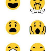 Los rostros solo cambiaron en su diseño Foto:Emojipedia