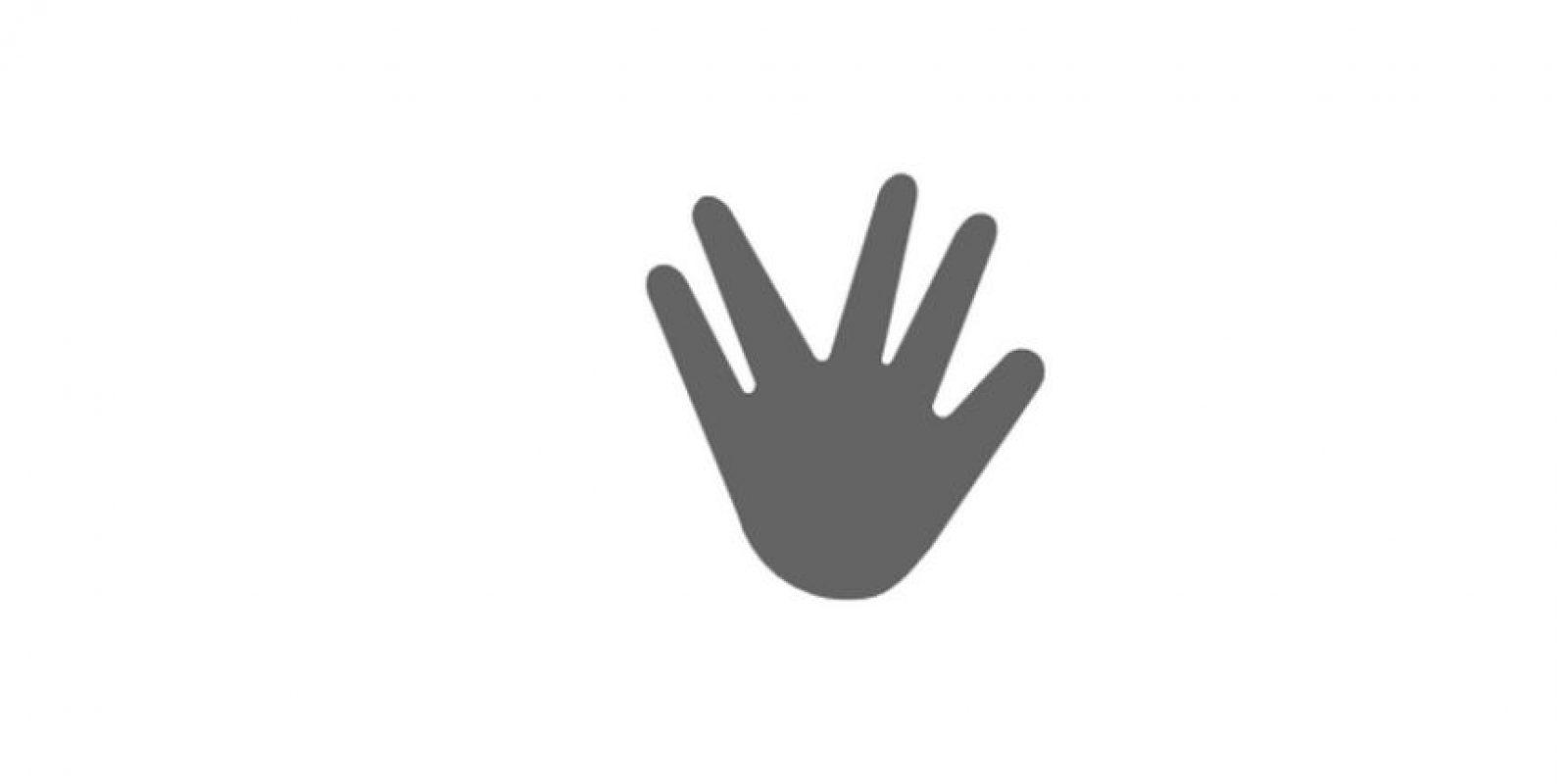 """El """"Saludo Vulcano"""" también estará disponible en este sistema Foto:Emojipedia"""