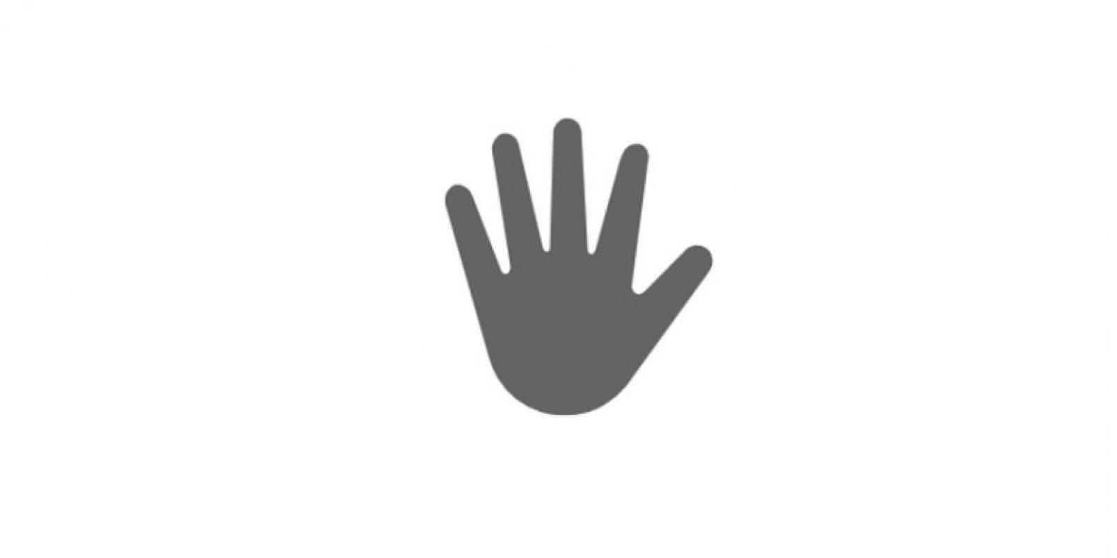 Al igual que el saludo normal Foto:Emojipedia