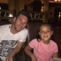 Leo descansó en su natal Rosario y luego viajó al Caribe con su familia. Foto:Vía instagram.com/leomessi