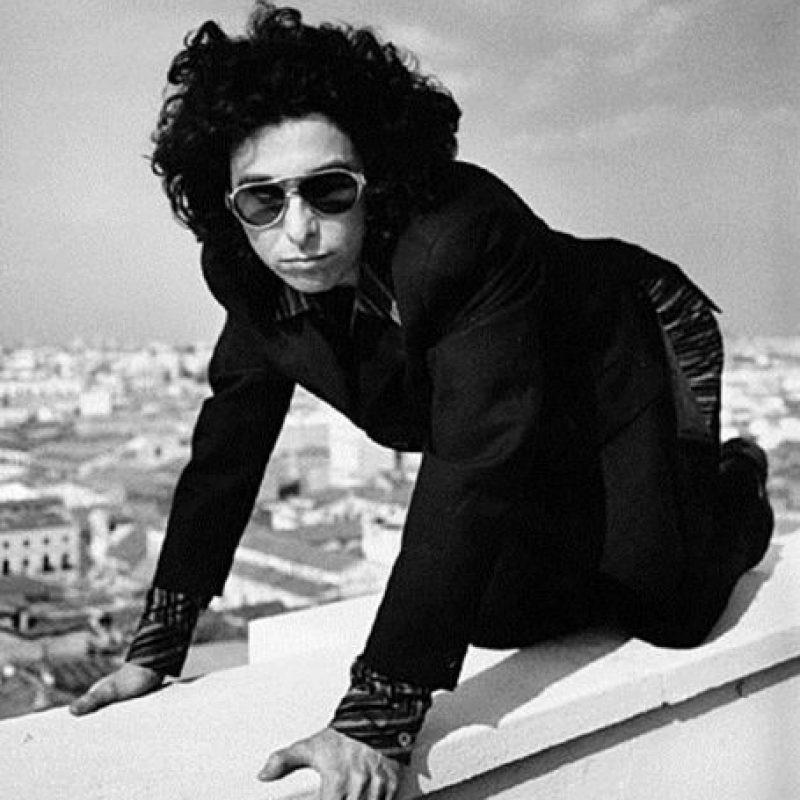 """Andrés Calamaro perteneció a bandas como """"Los Abuelos de la Nada"""" y """"Los Rodríguez"""". Foto:Tumbrl"""