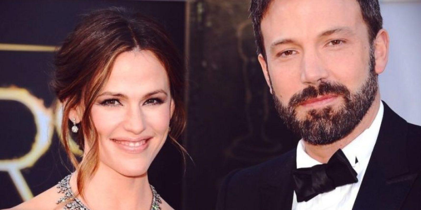 Ben Affleck y Jennifer Garner estuvieron casados por diez años Foto:Getty Images