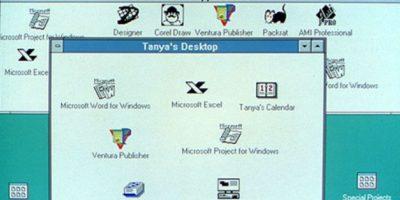 Windows 3.0 llegó dos años después (1992). Con él, Microsoft anunció el primer Windows que usaría letras en su nombre: El Windows NT Foto:Microsoft