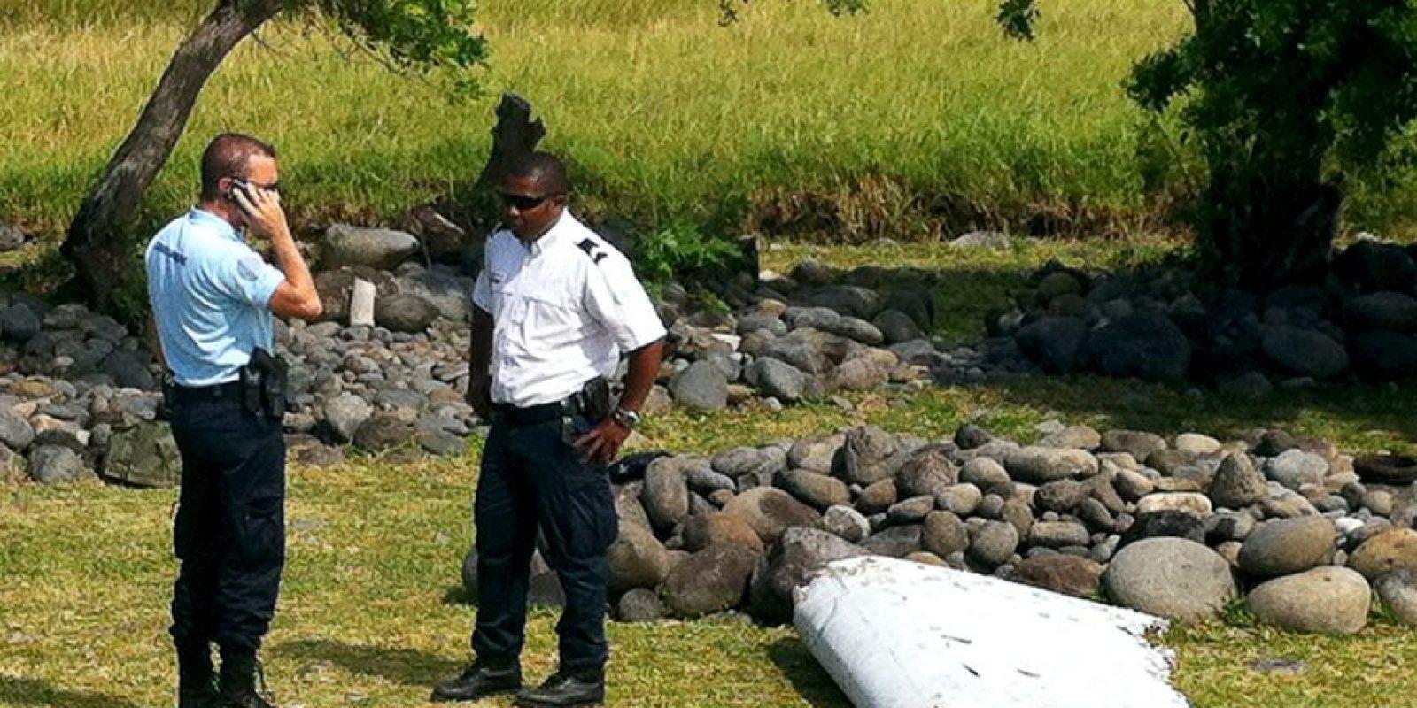 Los restos fueron encontrados en la Isla Reunion, en medio del océano índico. Foto:AFP
