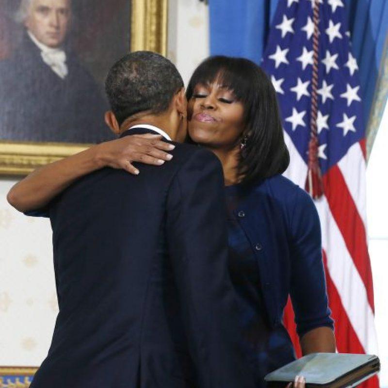 También aseguraron que la imagen provocó celos en la primera dama, Michelle Obama. Foto:Getty Images