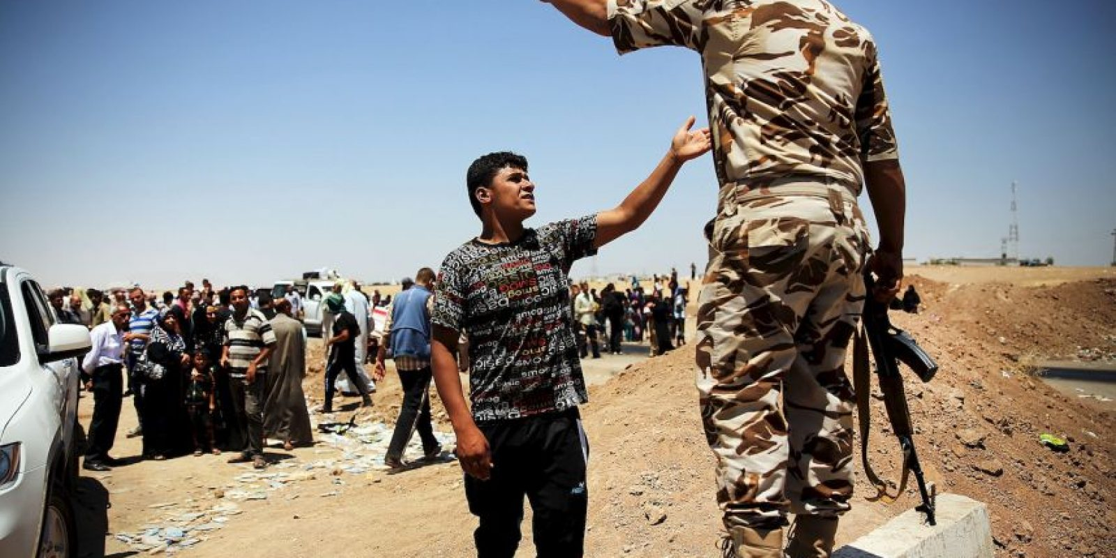 El programa busca concientizar al espectador de las difíciles situaciones que viven las personas que se encuentran en territorios como Siria Foto:Getty Images