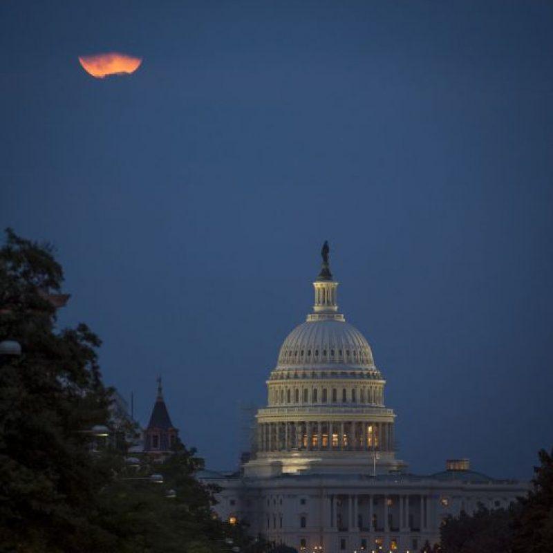 Así se le conoce al Eclipse total de Luna Foto:Getty Images