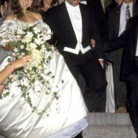 Peor fue cuando se casó con Tommy Motola. Foto:vía Getty Images