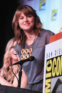 """Y mantiene su imagen de """"Xena"""", la cual promociona en convenciones de cómics. Foto:Getty Images"""