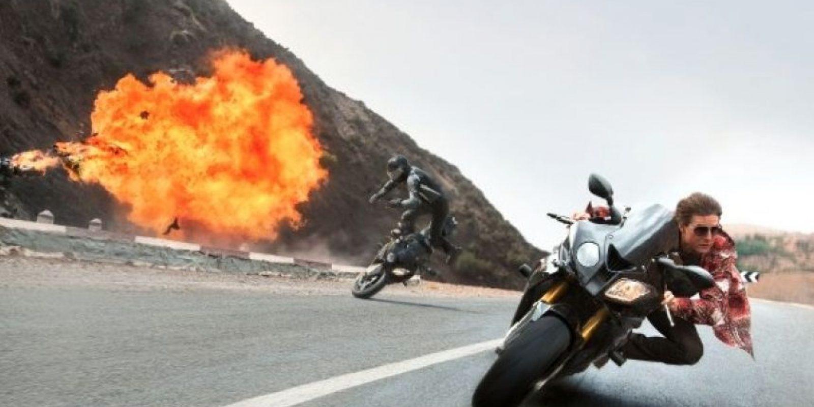 """En esta nueva entrega, """"Ethan Hunt"""" se vuelve a reunir con su equipo para acabar con la amenaza de una organización llamada """"Sindicato"""". Foto:IMDb"""