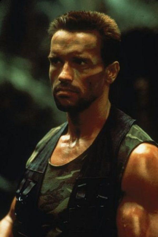 """Interpretó a """"Dutch"""", un mercenario contratado por la CIA para rescatar a unos pilotos en la guerrilla de la selva centroamericana. Foto:Twentieth Century Fox"""