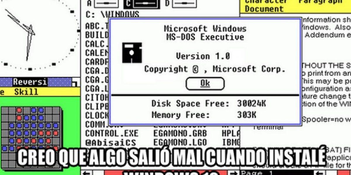 Las divertidas burlas sobre Windows 10 en redes sociales