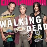 "Los 3 personajes principales de la serie protagonizan la portada de la revista ""Entertainment Weekly"" Foto: ""Entertainment Weekly"""