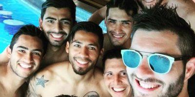 En junio de 2015 fue fichado por el club mexicano por cuatro años, para jugar la Copa Libertadores y Copa de Campeones de la Concacaf, además de la Liga MX. Foto:Vía twitter.com/10APG