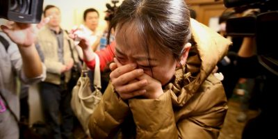 """""""Pero desde mayo ha habido un cambio drástico"""", comentó Jian Hui, vocero de las familias. Foto:Getty Images"""