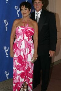Kris y Bruce Jenner (Caitlyn) estuvieron casados por 23 años. Foto:Getty Images