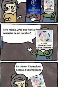 Así se burlaron de Tigres, River Plate y la Copa Libertadores en redes sociales. Foto:memedeportes.com